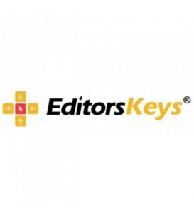 Editors Keys EK-KB-STUONE-BLWIN-DE - Backlit Keyboard