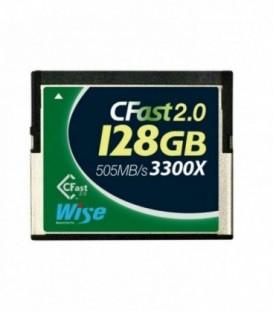 Wise WI-CFAST-0128 - CFast 2.0 Card 3300X green 128 GB