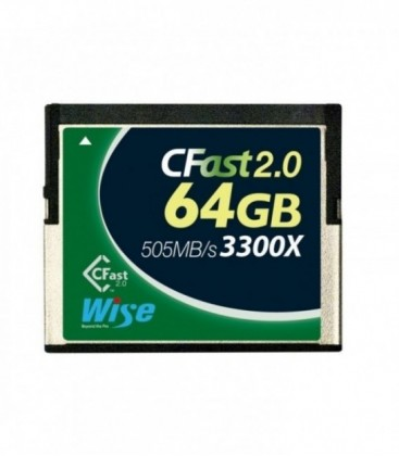 Wise WI-CFAST-0640 - CFast 2.0 Card 3300X green 64 GB