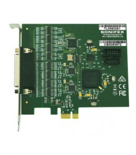 Sonifex PC-AUR44 - Auricon 4.4 Analogue PCIe Sound Card (Balanced) 4 Stereo I/O