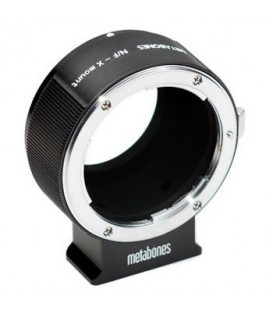 Metabones MB_NF-X-BT1 - Nikon F to X-mount/FUJI T (Black Matt)