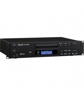 Tascam CD-200BT - Rackmount CD Player With Bluetooth Receiver