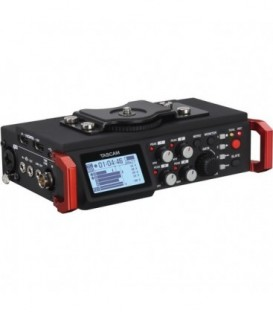 Tascam DR-701D - 6-Track Field Recorder for DSLR with SMPTE Timecode