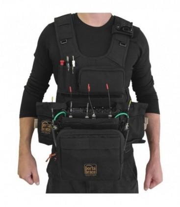 Portabrace ATV-633 - Audio Tactical Vest for Sound Devices 633, Black