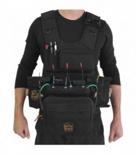 Portabrace ATV-Z8 - Audio Tactical Vest-Zoom, Black
