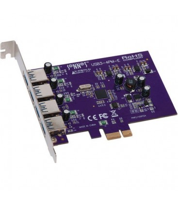 Sonnet USB3-4PM-E - Allegro 4-Port USB 3.0 PCI Express Card