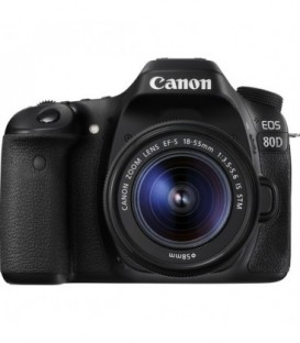 Canon 1263C034 - EOS-80D + 18-55mm IS-STM Lens