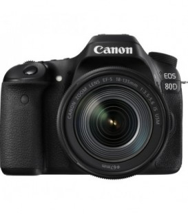 Canon 1263C042 - EOS-80D + 18-135mm IS-USM Lens