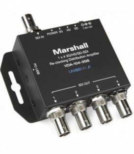 Marshall VDA-104-3GS - 1x4 3GSDI distribution amplifier
