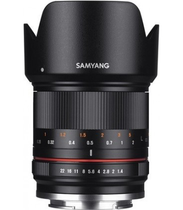 Samyang F1223110101 - 21mm F1.4 Fuji X (Black) CSC