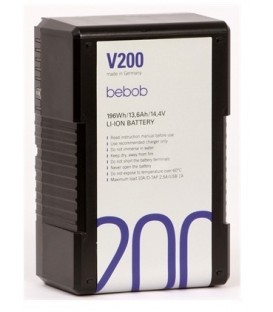 Bebob V200 - V-Mount battery 14.4V/13.6Ah