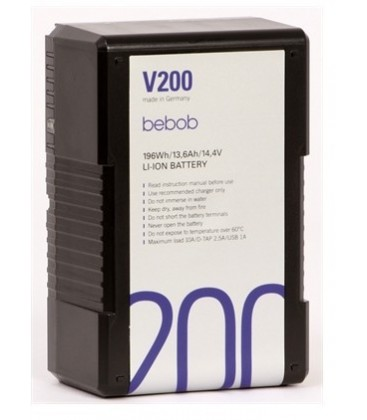 Bebob V200 - V-Mount battery 14.4V/13.6Ah