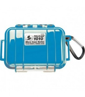 Pelicase 1010-025-120E - MicroCase Solid Blue with Black Liner