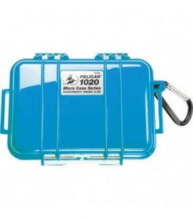 Pelicase 1020-025-120E - MicroCase Solid Blue with Black Liner