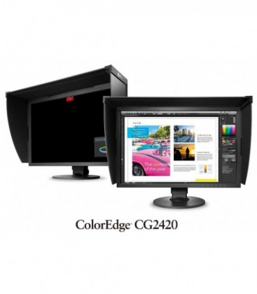 Eizo CG2420 - 24.1 inch LCD Monitor, Black, ColorNavigator License Pack