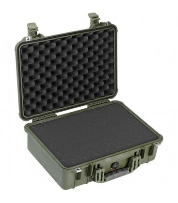 Pelicase 1500-000-130E - Protector case with foam, OD Green
