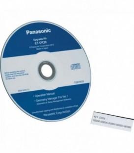 Panasonic ET-UK20V - Geometric deformation software
