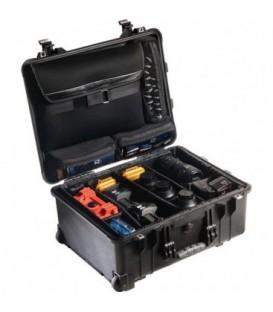 Pelicase 1560-007-110E - Studio Case with Dividers, Black