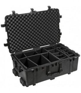 Pelicase 1650-024-110E - Protector case with dividers, Black