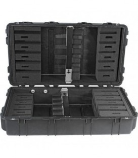 Pelicase 1780-006-110E - Long Case with Foam for Rifles, Black