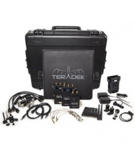 Teradek TER-BOLT-965-2V - BOLT Pro 1000 HD-SDI / HDMI Wireless Video TX / 2RX Deluxe Kit