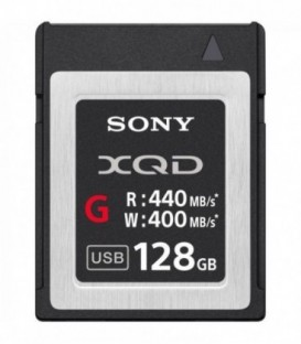 Sony QDG128E - 128 GB XQD G Series memory card for professional shooting
