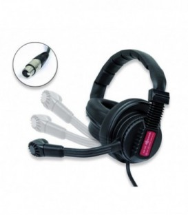 Altair AM-100S - Rotatable mic-boom with cut-off dual headphone (NC4-FX)