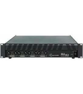 Altair MA80.8 - Bipolar power amplifier 8 x 80W/4Ohm