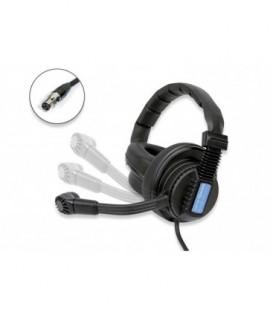 Altair WAM-100S - Rotatable mic-boom with cut-off dual headphone (TA4F)