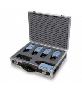Altair WBFC-200 - Flight-Case to carry 4 Beltpacks Compact + Charger WBPC-200