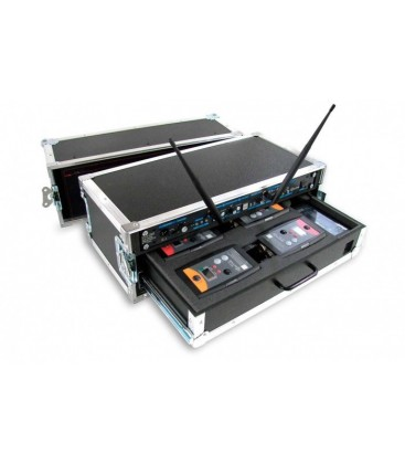 Altair WBFC-210F - Empty Flight-Case for a full Monochannel Wireless System Extreme