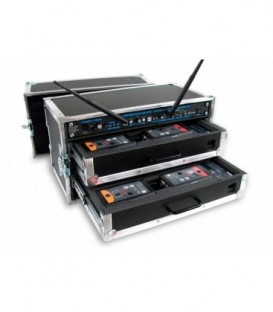 Altair WBFC-212F - Empty Flight-Case for a full Dual Channel Wireless System Extreme