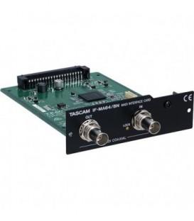 Tascam IF-MA64BN - MADI Interface Card for DA-6400, BNC