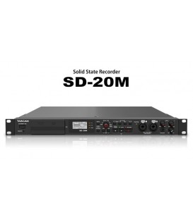 Tascam SD-20M - Solid state audio recorder, 1U, Mic-In, RCA
