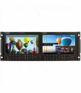 ViewZ VZ-090RM-P - 9 inch Dual rack mountable monitor