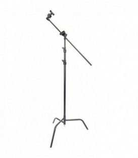 "Matthews B339764 - D/R spring loaded 40"" Folding C-Stand w/Grip Head & Arm"