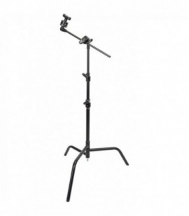 "Matthews B339774 - D/R spring loaded 20"" Folding C-Stand w/Grip Head & Arm"