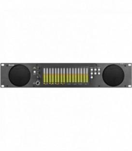 Marshall AR-DM32-B - Audio Rack 2RU 16ch Tri-Color Bar Graph FPGA
