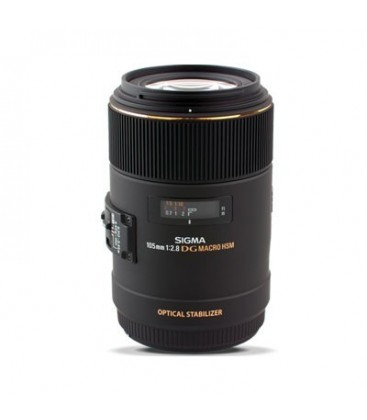 Sigma 258954 - 105mm F2,8 EX DG MACRO OS HSM Canon