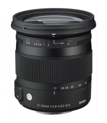 Sigma 884954 - 17-70mm F2,8-4,0 DC MACRO OS HSM Canon