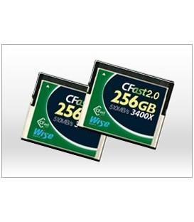 Wise WI-CFAST-0256 - CFast 2.0 Card 3300X green - 256 GB