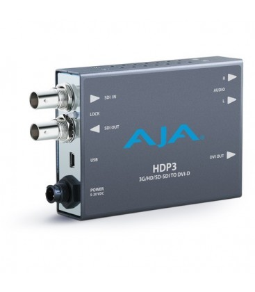 AJA HDP3-R0 - 3G-SDI to DVI with 1080p 60p support