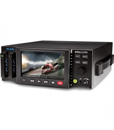 AJA KI-PRO-ULTRA-R0 - 4K/UltraHD and 2K/HD Recorder/Player with 4K 60p Support