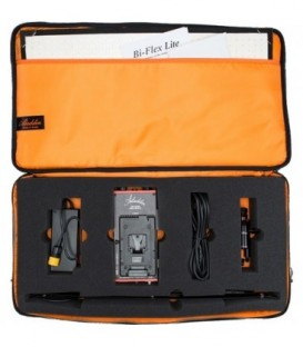 Aladdin AMS-FL100BIKITC VM - Bi-Flex 2 Kit (100W Bi-Color) V-Mount + Kit Case 2