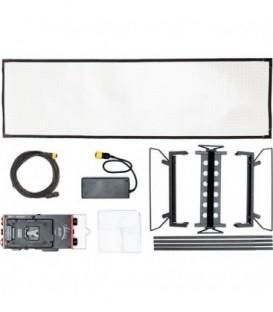 Aladdin AMS-FL200BIKITC VM - Bi-Flex 4 Kit (200W Bi-Color) V-Mount + Kit Case 4