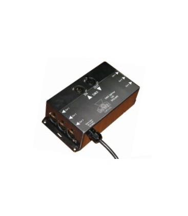 DeSisti 5412.640 - 1 In - 6 Out DMX Splitter