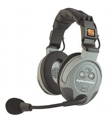 Eartec CS-DBLEU - European Comstar Double Headset