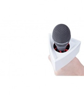 Rycote 107317 - 20 X Single Triangular White Mic Flag