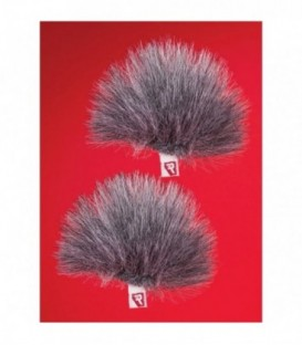 Rycote 065553 - Grey Ristretto Lavalier Windjammer