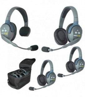 Eartec UL413 -- UltraLITE 4 person system